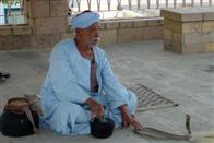 Snake charmer, Kom Ombo, Egypt